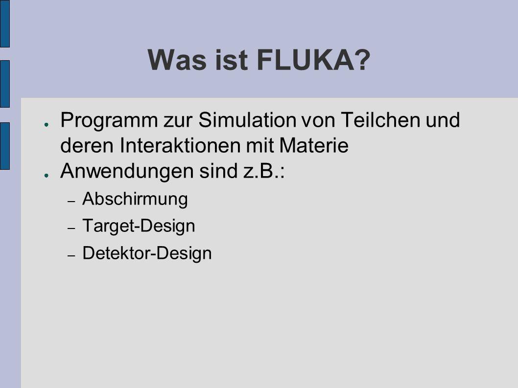 Arbeit im Bereich AB-BI-BL Was. – Untersuchungen zur Detektion von Strahlverlusten im LHC Warum.