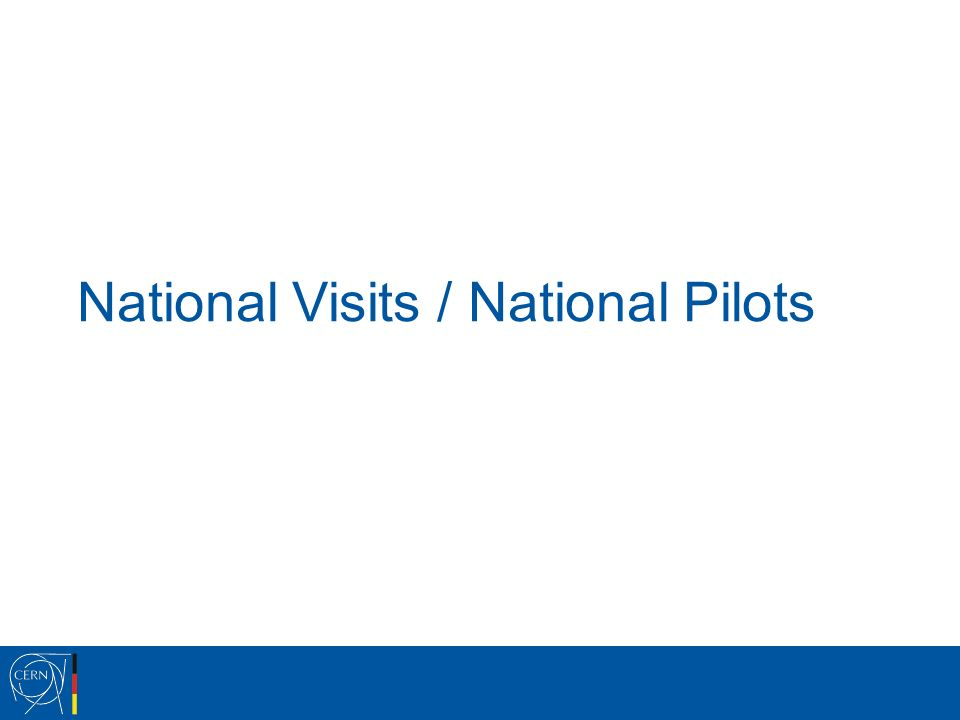 National Visits / National Pilots