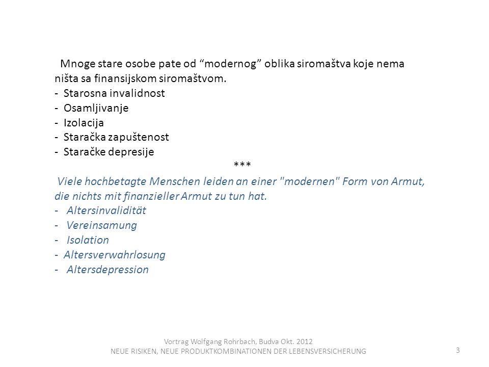 Vortrag Wolfgang Rohrbach, Budva Okt.