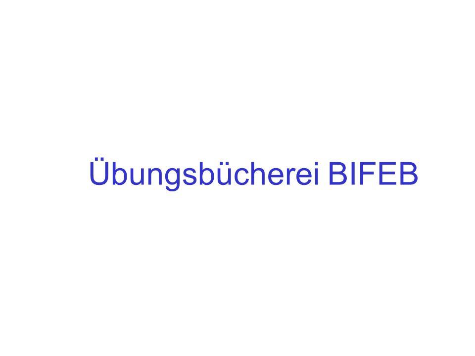Übungsbücherei BIFEB
