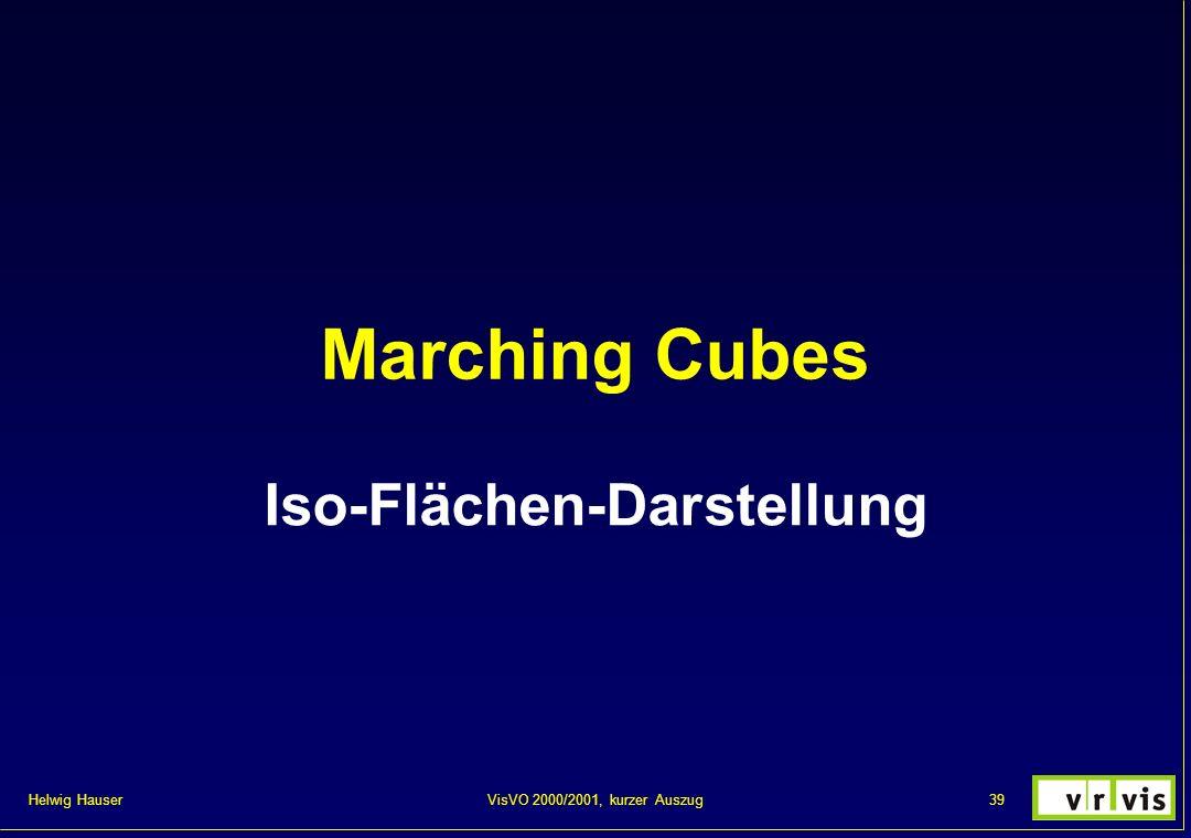 Helwig Hauser 39VisVO 2000/2001, kurzer Auszug Marching Cubes Iso-Flächen-Darstellung