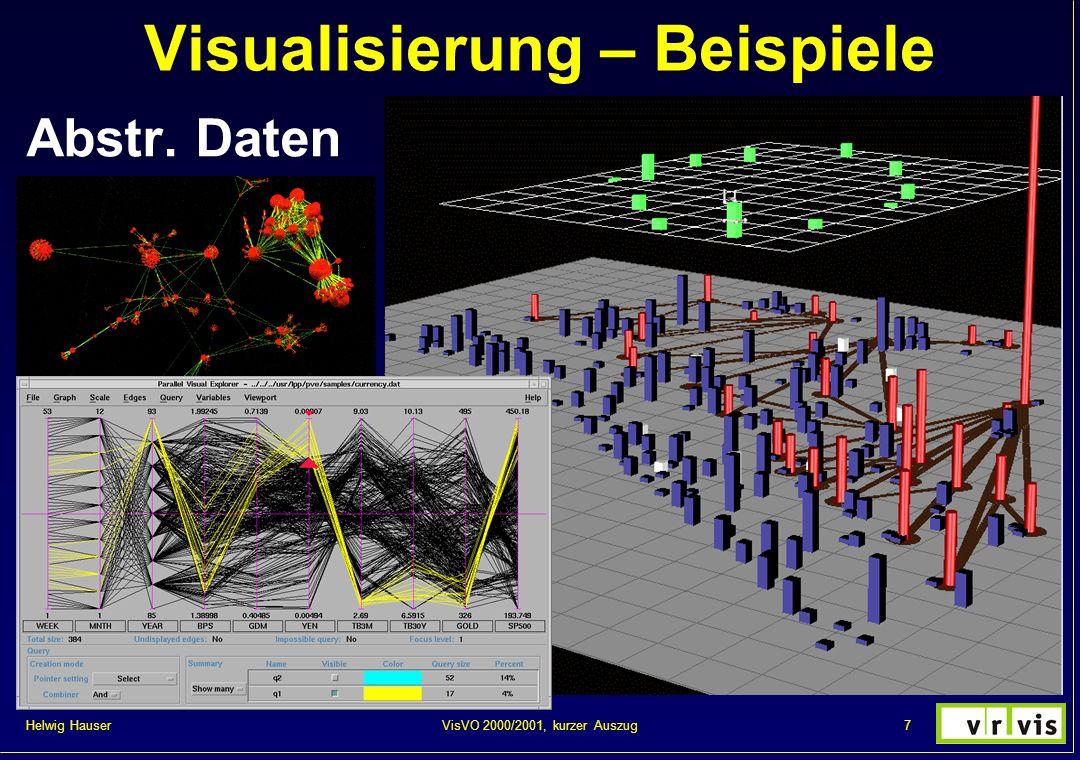Helwig Hauser 78VisVO 2000/2001, kurzer Auszug Hyperbolic trees – idea Art vs. InfoViz