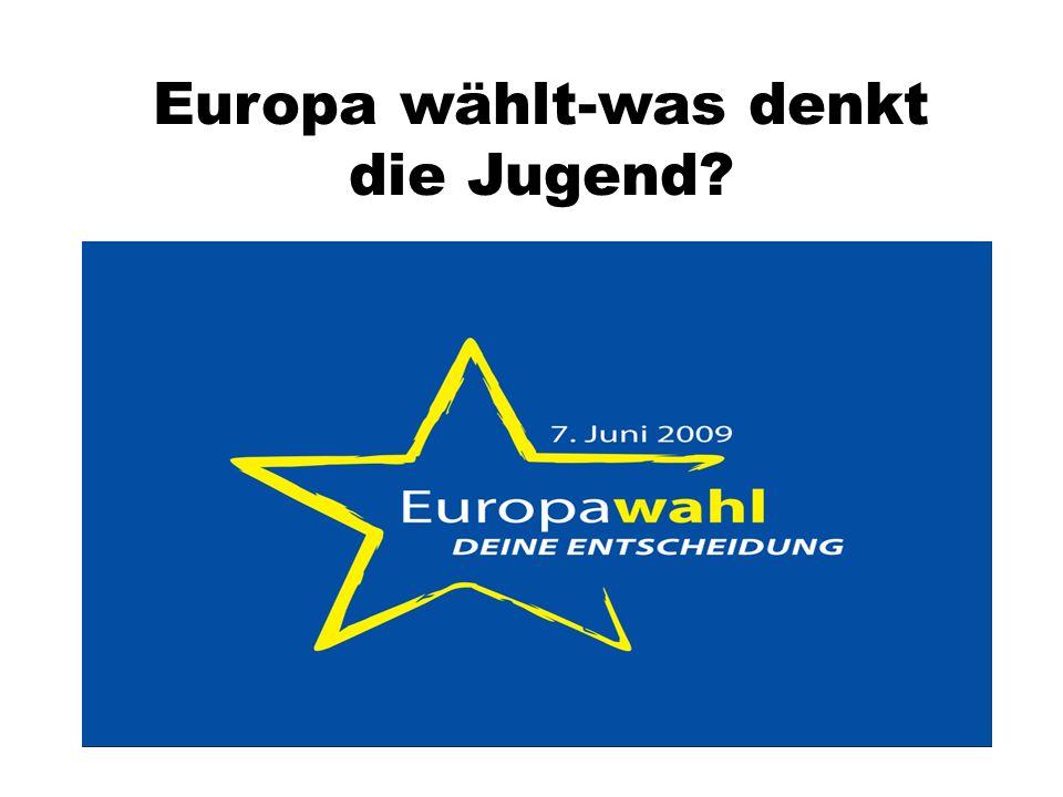 Europa wählt-was denkt die Jugend