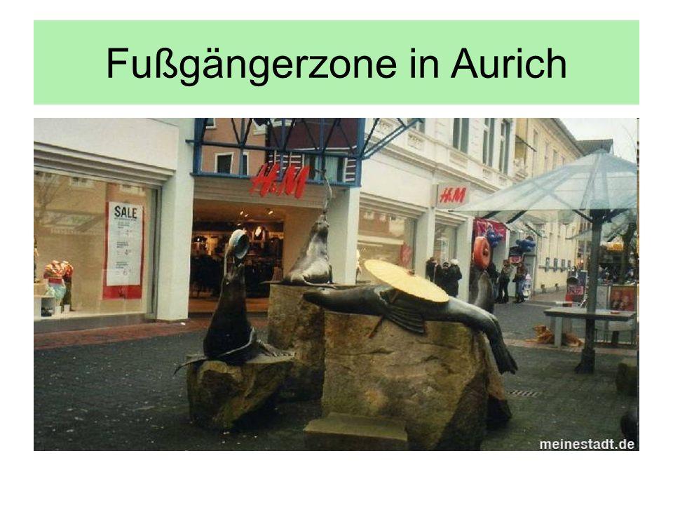 Fußgängerzone in Aurich
