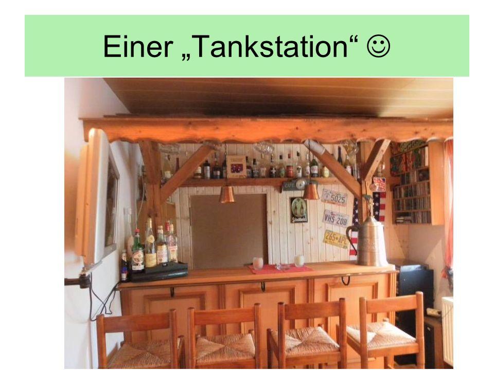 Einer Tankstation