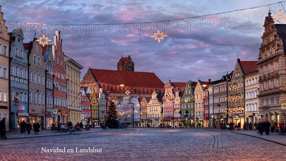 Navidad en Mittenwald, Bavaria,