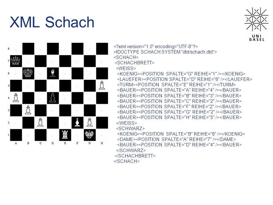 XML Schach