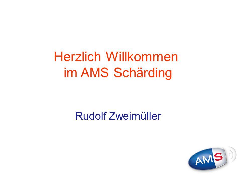 Herzlich Willkommen im AMS Schärding Rudolf Zweimüller