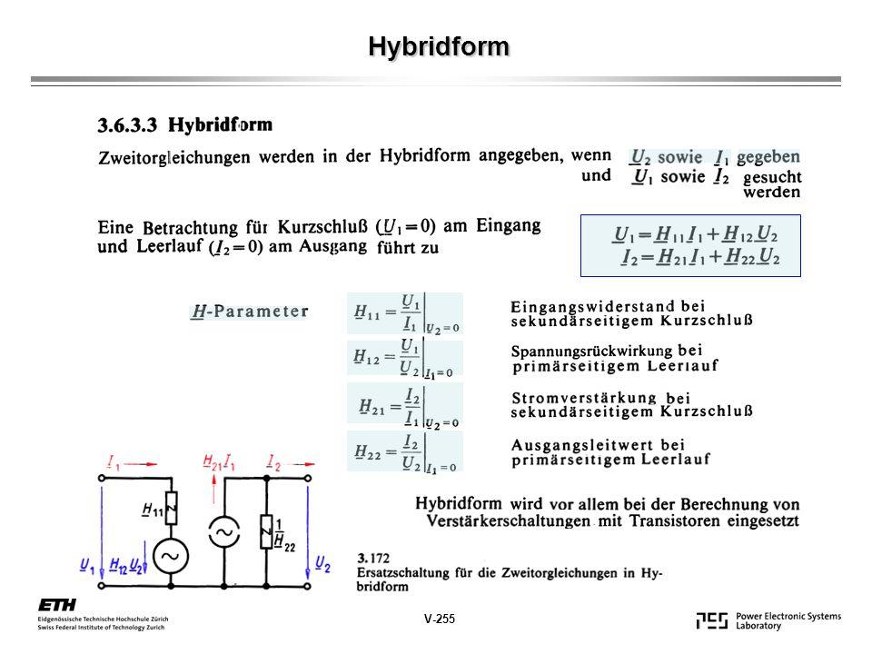 Hybridform V-255