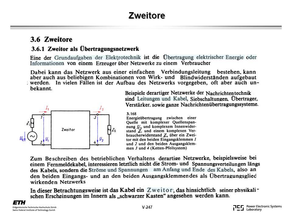 Zweitore - - V-247