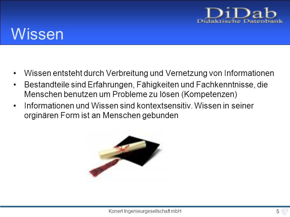 Konert Ingenieurgesellschaft mbH 26 Ergebnis :: DiDaB =