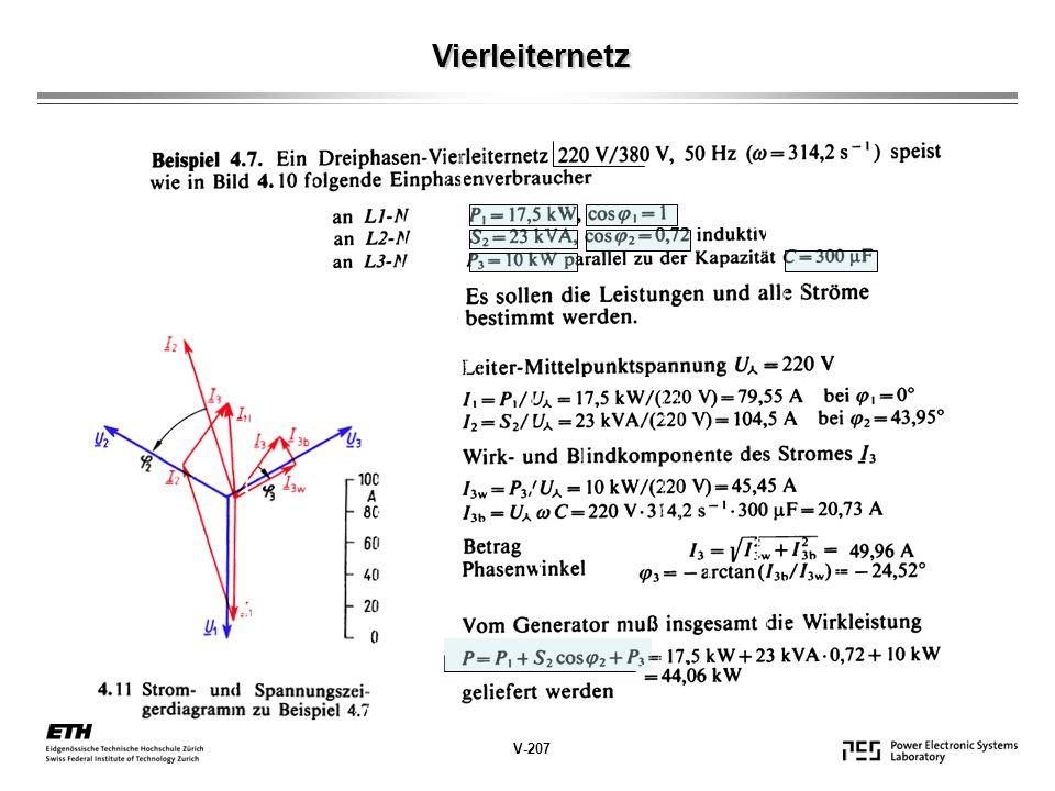 Vierleiternetz V-207