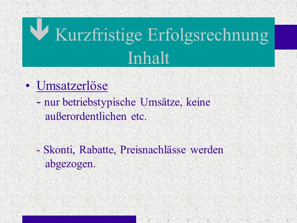 Statische Liquidität Inhalt Barliquidität - Kasse, Postbank, Bank Liquidität 2.