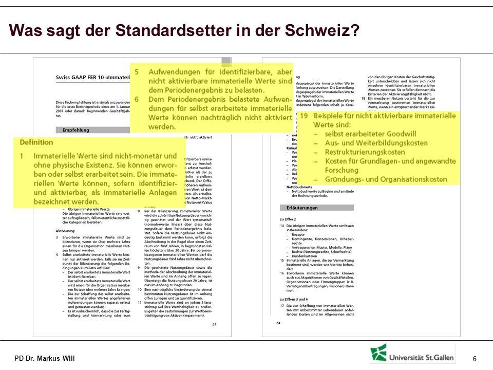PD Dr.Markus Will 17 Quelle: in Anlehnung an Edvinsson, L.