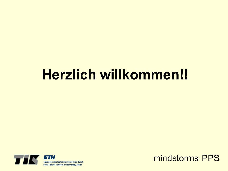 mindstorms PPS Herzlich willkommen!!