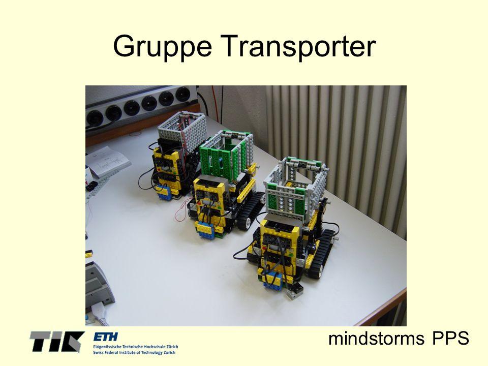 mindstorms PPS Gruppe Transporter