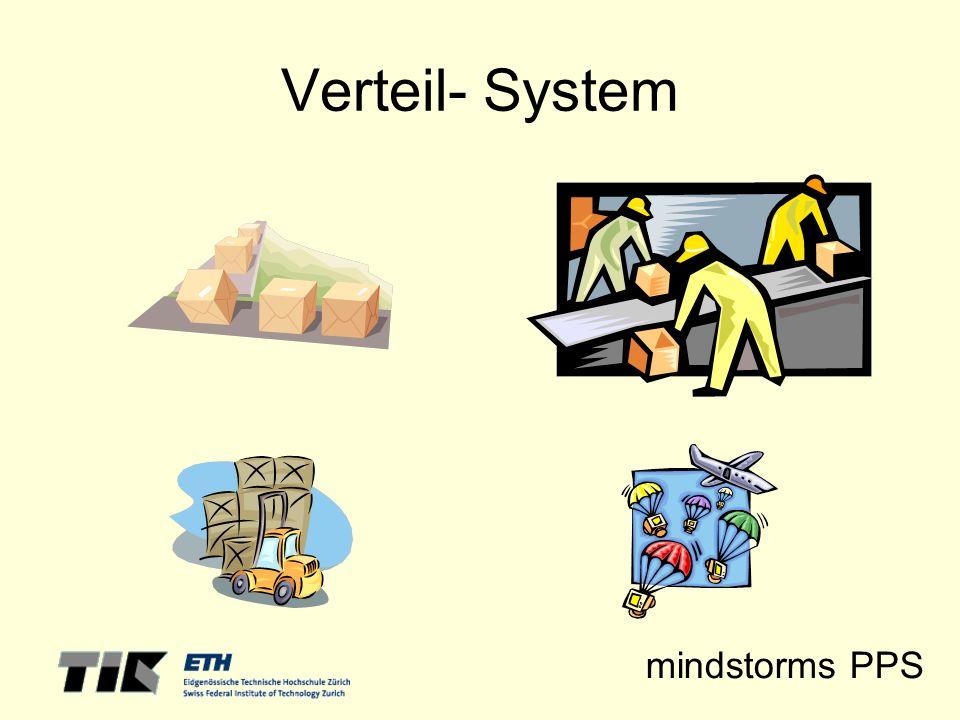 mindstorms PPS Verteil- System