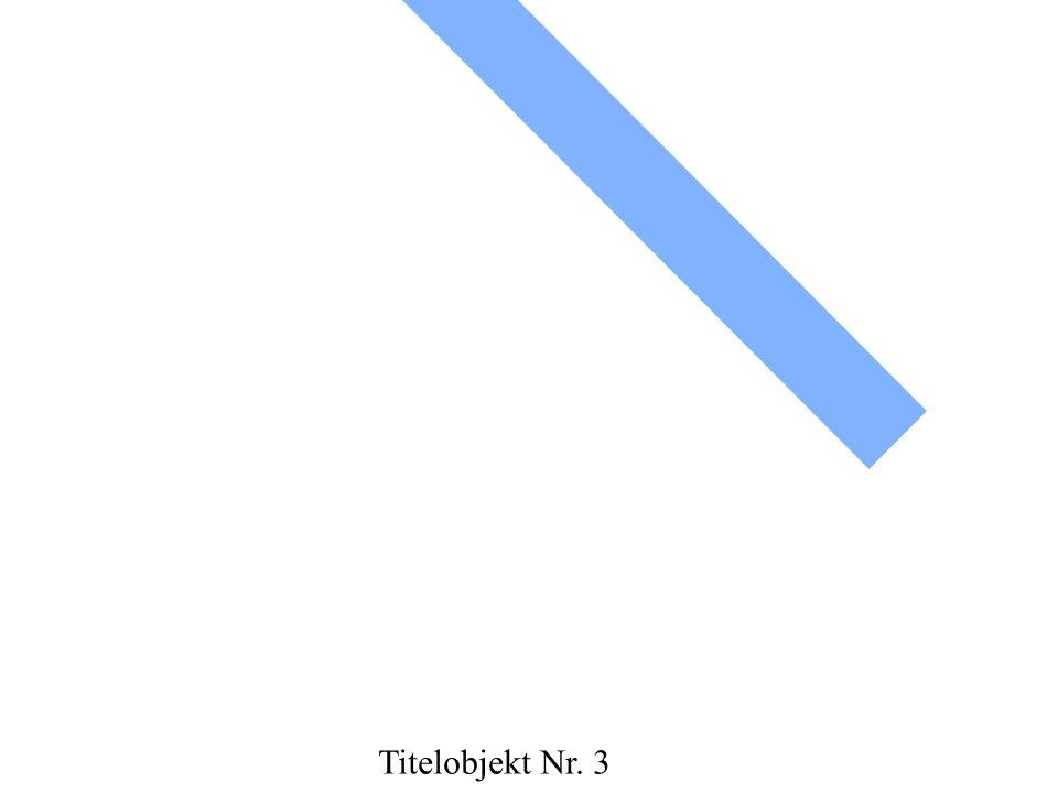 Titelobjekt Nr. 3
