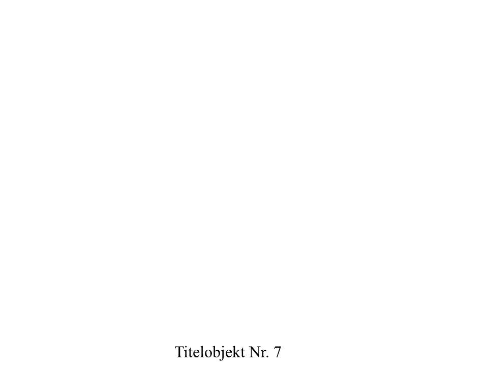 Titelobjekt Nr. 8