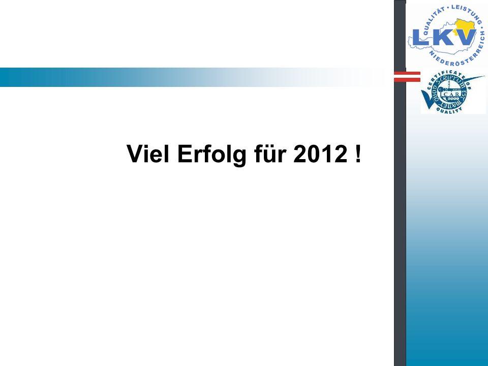Viel Erfolg für 2012 !