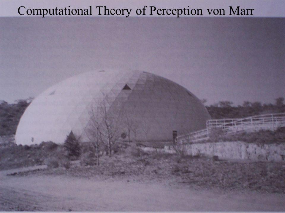 © Mirjana Degen, Ruth Riemen, Maria Schulz Computational Theory of Perception von Marr