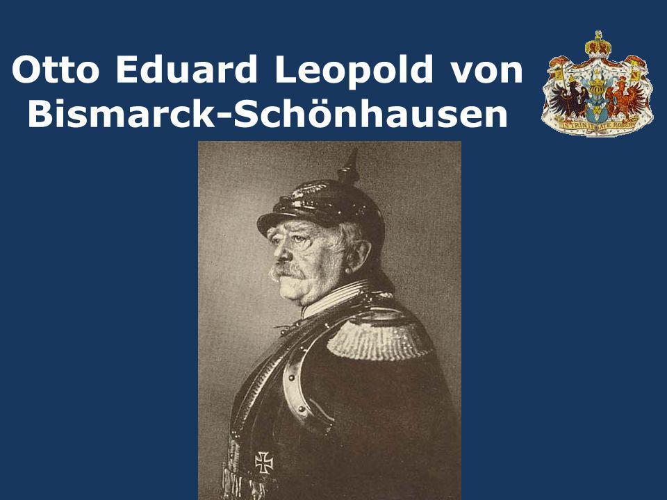 Zweiter Sohn des Rittmeisters Karl Wilhelm Ferdinand von Bismarck und dessen Ehefrau Luise Wilhelmine Geb.:1.