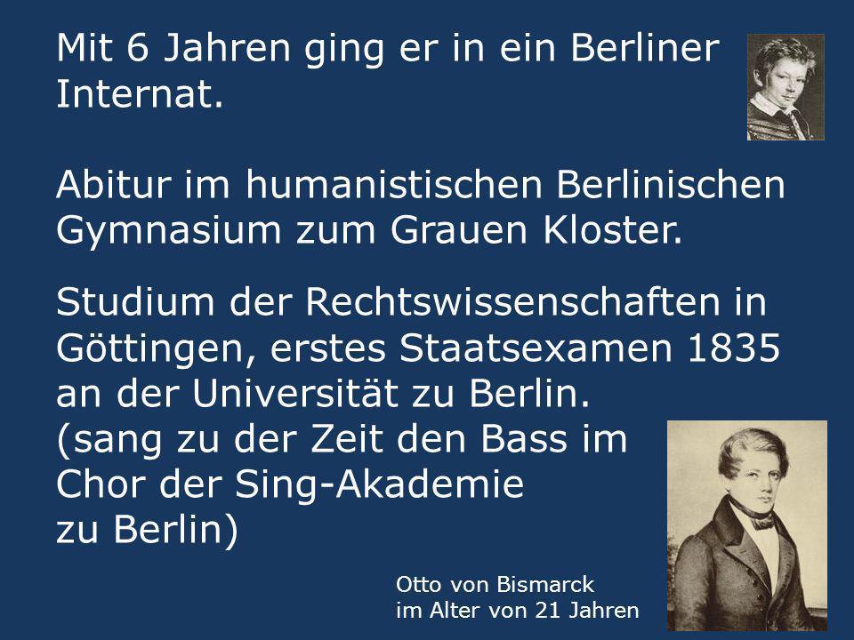 Mit 6 Jahren ging er in ein Berliner Internat. Abitur im humanistischen Berlinischen Gymnasium zum Grauen Kloster. Studium der Rechtswissenschaften in