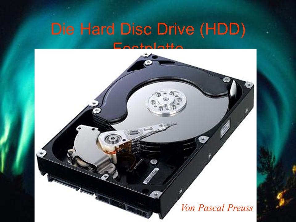 Die Hard Disc Drive (HDD) Festplatte Von Pascal Preuss