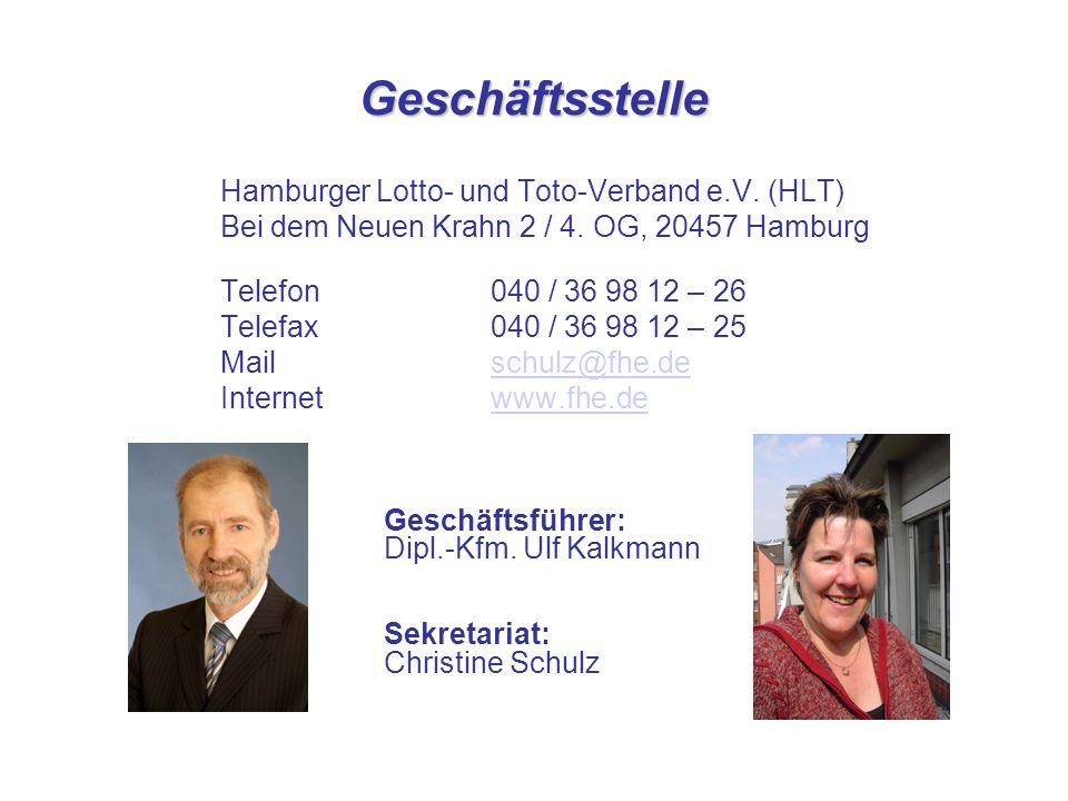 Geschäftsstelle Hamburger Lotto- und Toto-Verband e.V.