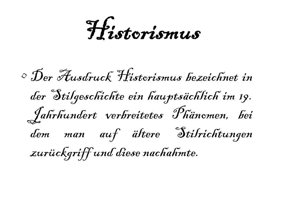 Neogothik = Neugotik Als Stilausprägung des Historismus im 19.