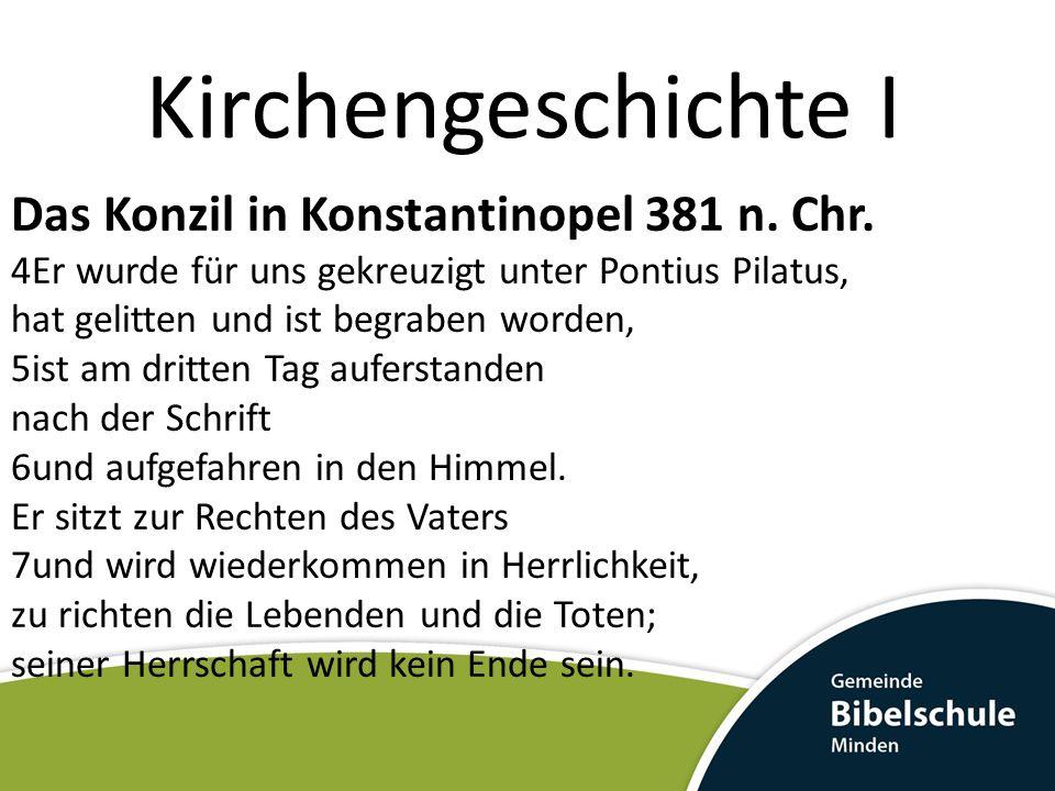 Kirchengeschichte I Der Bischof von Rom Damasus I.