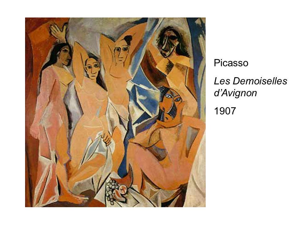 Picasso Les Demoiselles dAvignon 1907