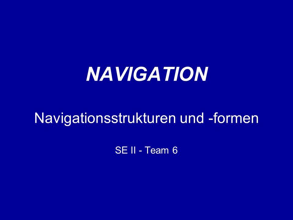 Navigation ist...