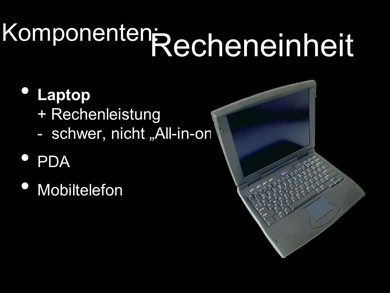 Laptop + Rechenleistung - schwer, nicht All-in-one PDA Mobiltelefon Komponenten: Recheneinheit