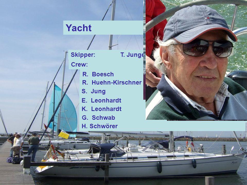 Yacht Spirit Skipper:T. Junge Crew: R. Boesch R.