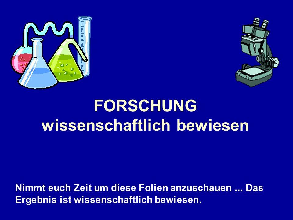 4 Würmer des selben Typs wurden in mit 4 verschiedenen Substanzen gefüllten Reagenzgläser eingesperrt: Das erste Glas mit Alkohol befüllt.