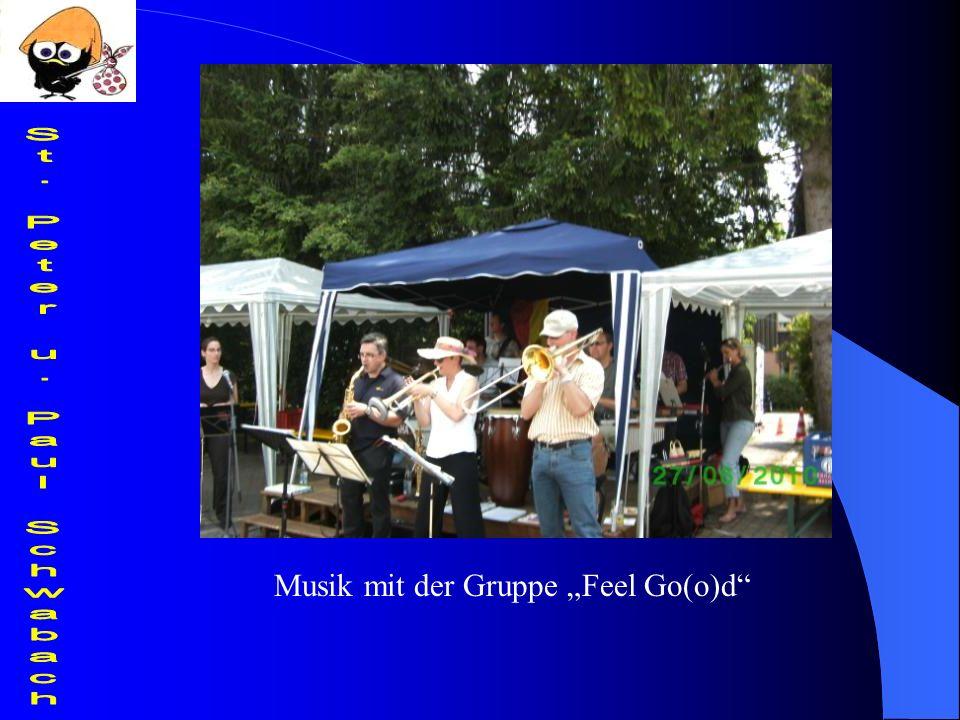 Musik mit der Gruppe Feel Go(o)d