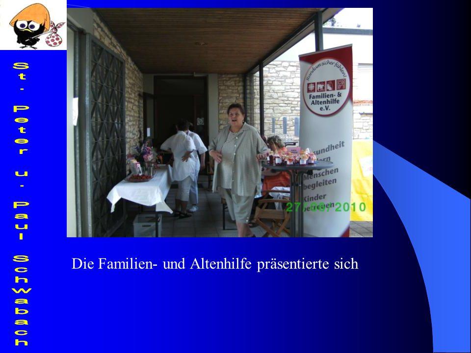 Die Familien- und Altenhilfe präsentierte sich