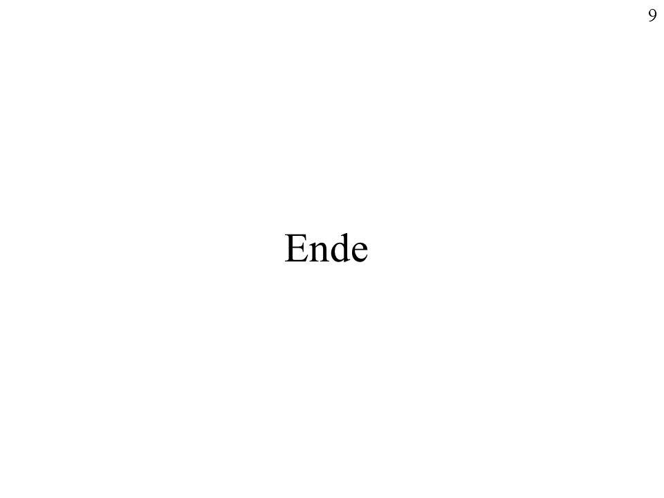 9 Ende