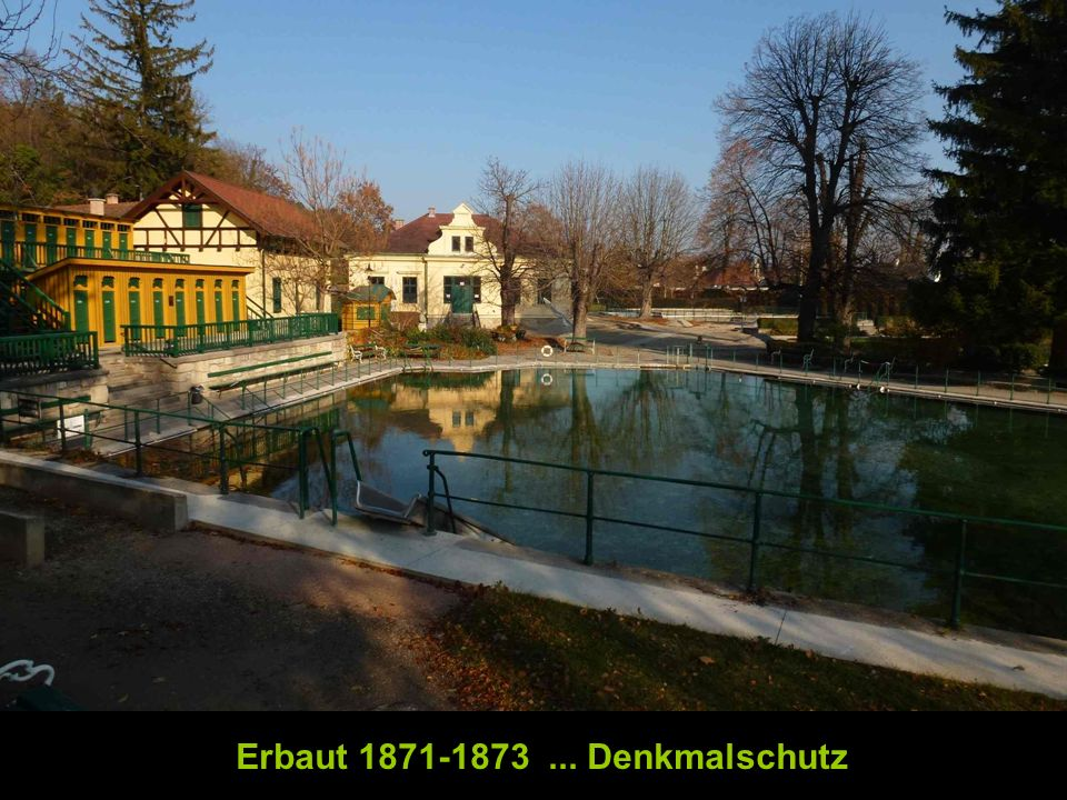 Erbaut 1871-1873... Denkmalschutz