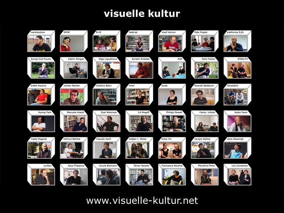 visuelle kultur www.visuelle-kultur.net