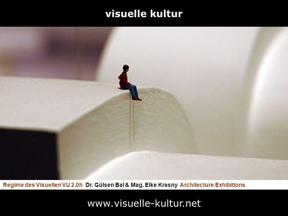 Regime des Visuellen VU 2.0h Dr. Gülsen Bal & Mag. Elke Krasny Architecture Exhibitions www.visuelle-kultur.net visuelle kultur