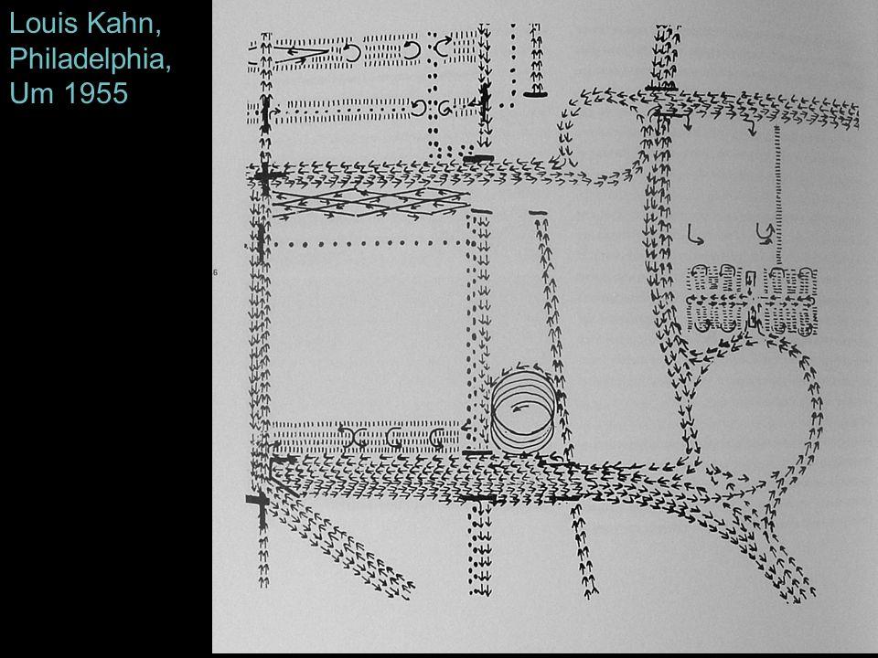 Louis Kahn, Philadelphia, Um 1955