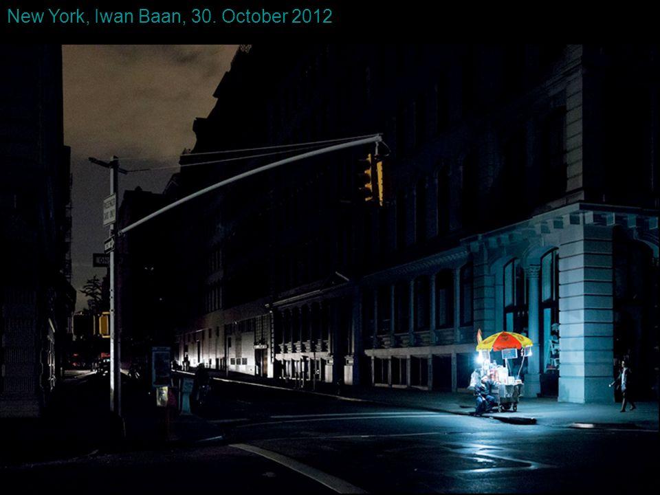 New York, Iwan Baan, 30. October 2012