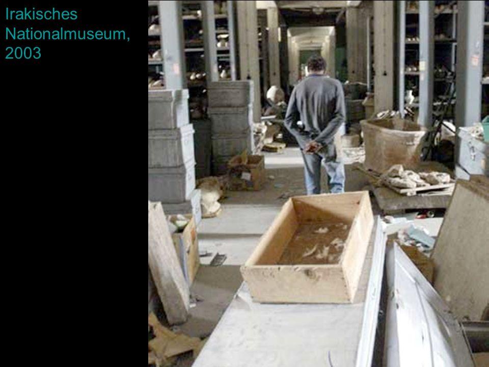 Irakisches Nationalmuseum, 2003