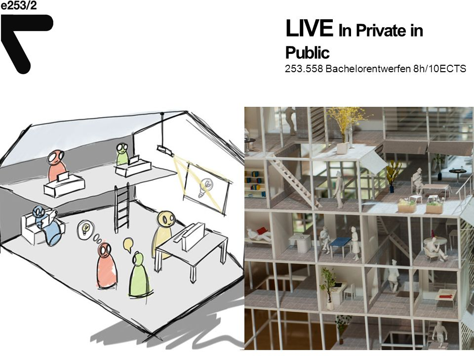 LIVE In Private in Public 253.558 Bachelorentwerfen 8h/10ECTS