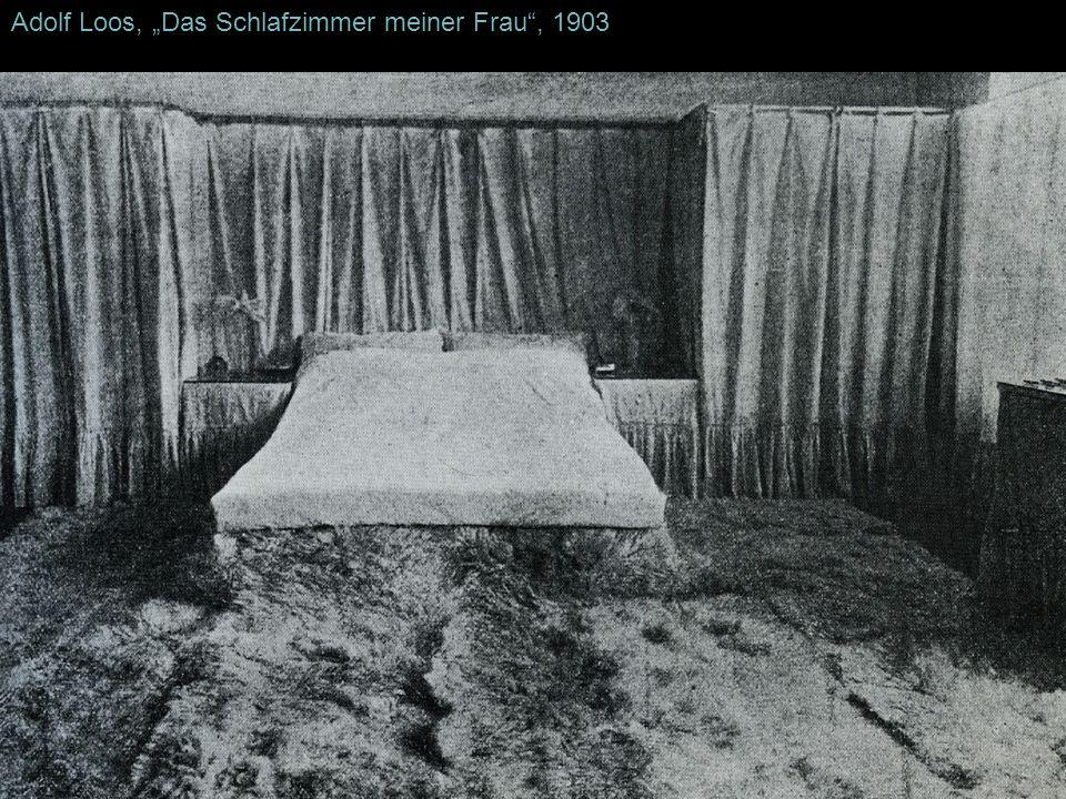 Adolf Loos, Das Schlafzimmer meiner Frau, 1903