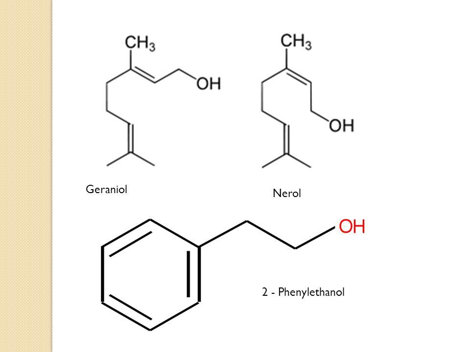 Geraniol Nerol 2 - Phenylethanol