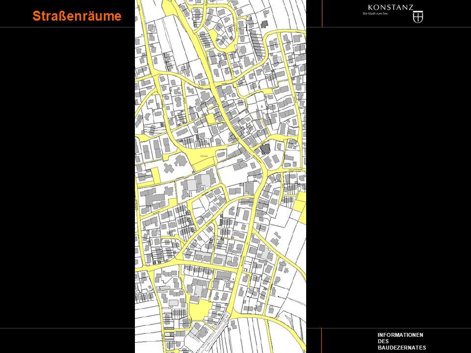 INFORMATIONEN DES BAUDEZERNATES Straßenräume