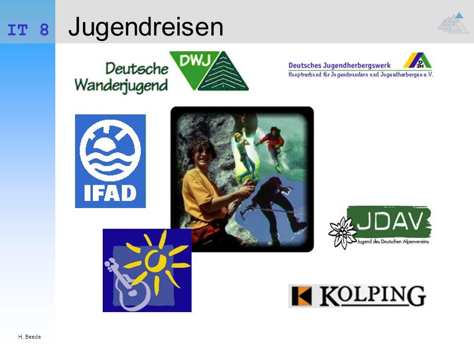 H.Beede IT 8 Anschriften 1.. Kolping Jugendreisen.